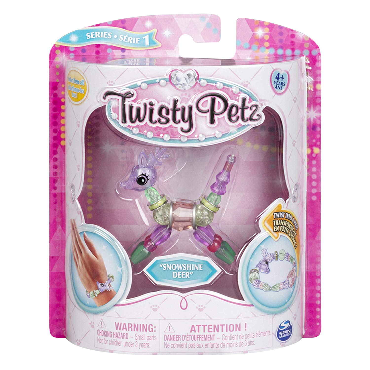 Twisty Petz Pulseira - Single - Snowshine Deer - Sunny