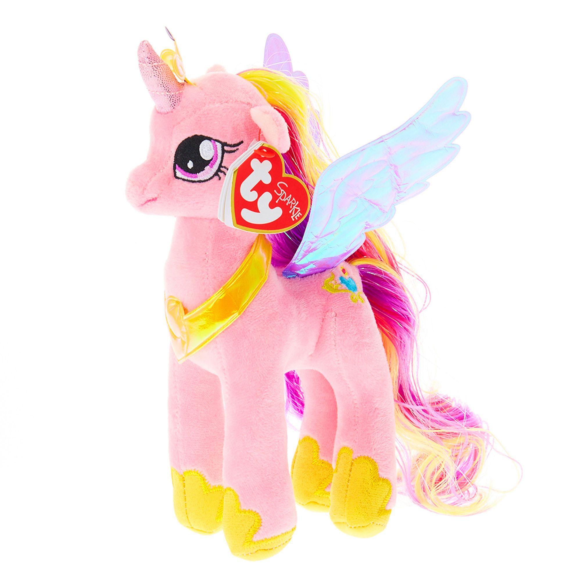 Ty Beanie Babies - Pelúcia Cadence - My Little Pony - 20 cm