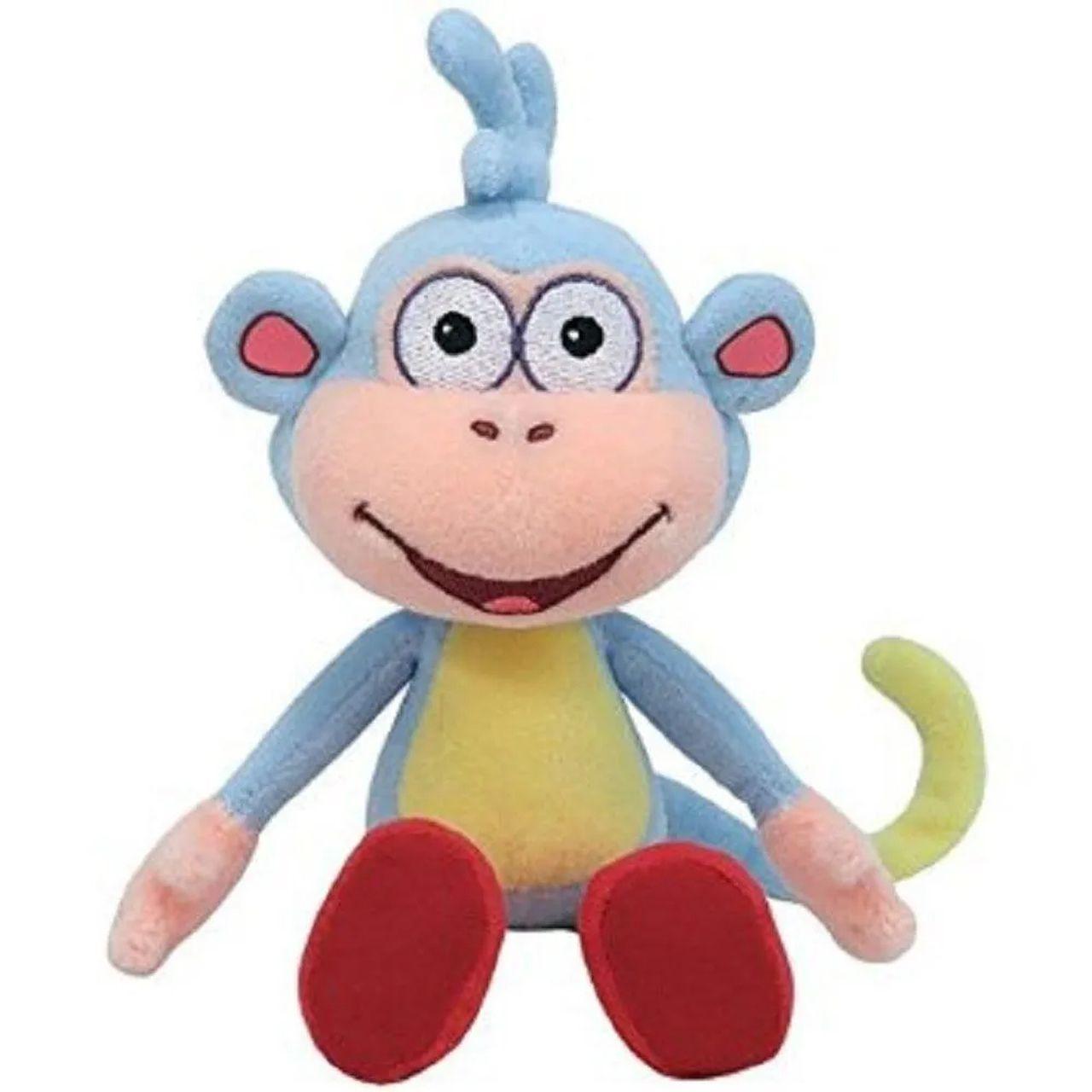 Ty Beanie Babies - Pelucia Dora Aventureira - Macaco Botas