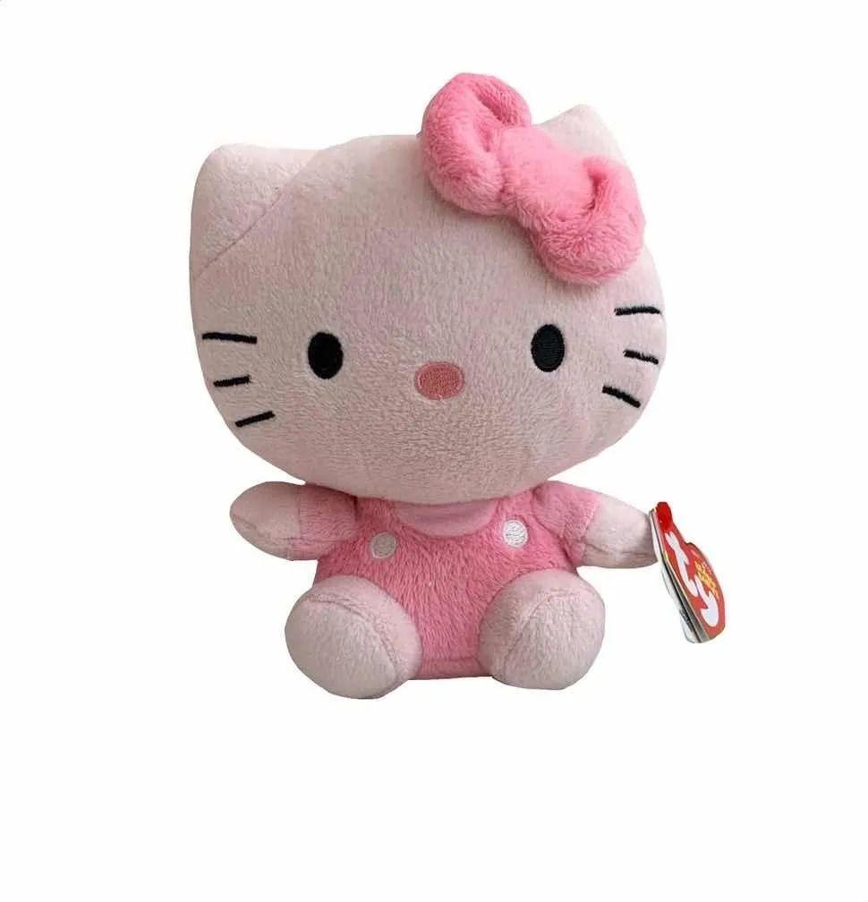 Ty Beanie Babies - Pelúcia Hello Kitty Rosa 15 cm - Original
