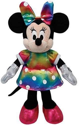 Ty Beanie Babies - Pelúcia Minnie Colorida 20 cm - Original