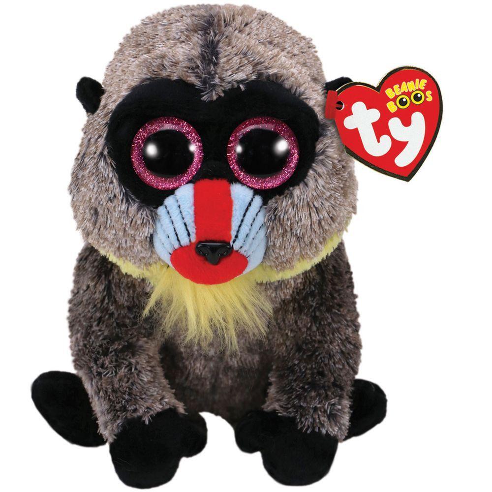 Ty Pelúcia Beanie Boos - Wasabi Macaco - Original DTC