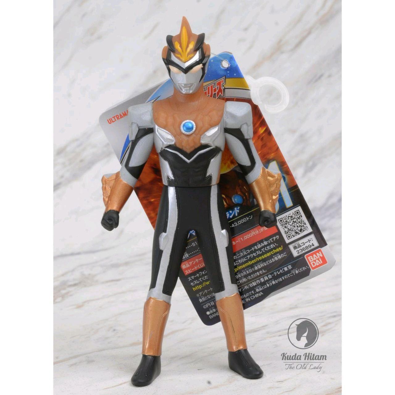 Ultraman R/B - Blu Ground - Ultra Hero 500 - N.61 - Bandai