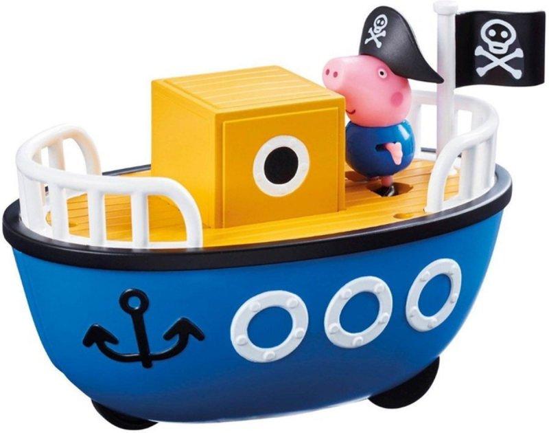 Veículos da Peppa - Barco do Vovo Pig c/ George - Sunny