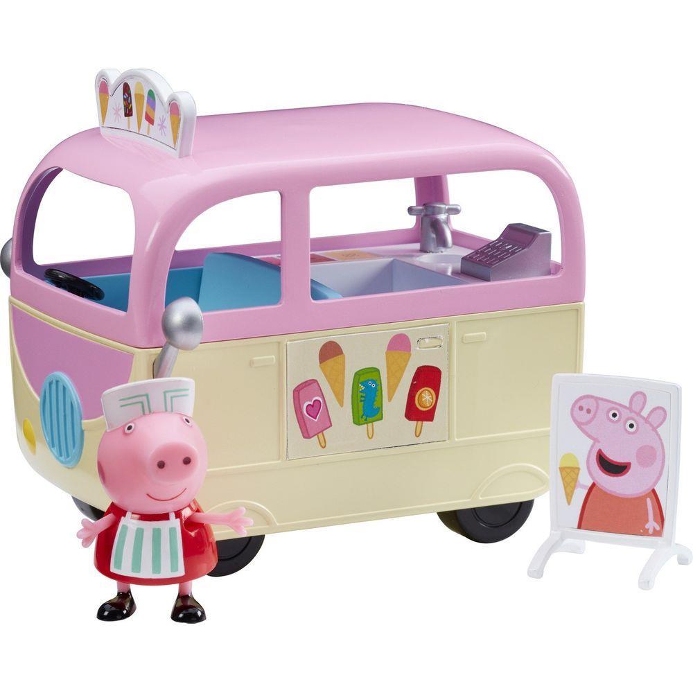 Brinquedo Veículos da Peppa Pig - Van do Sorvete - Sunny