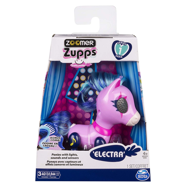 Zoomer Zupp - Mini Póneis - Electra -13 cm - Original Sunny