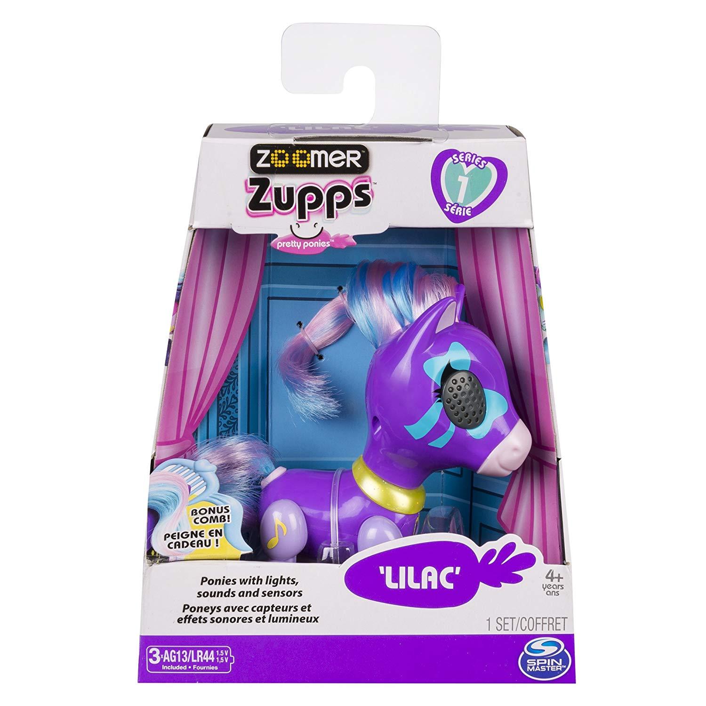 Zoomer Zupp - Mini Póneis - Lilac - 13 cm - Original Sunny