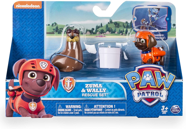 Zuma e Wally - Patrulha Canina Resgate Set - Sunny Original