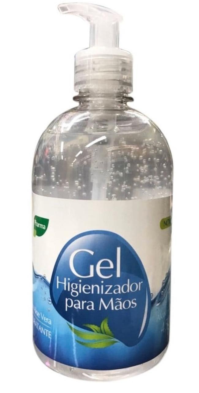 Álcool em Gel Pharma 70% 450gr