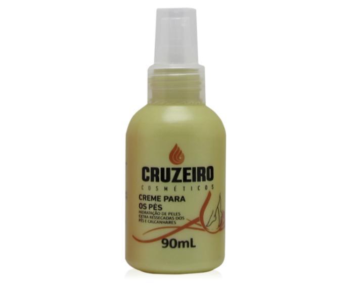 Creme hidratante para os pés Cruzeiro 90ml
