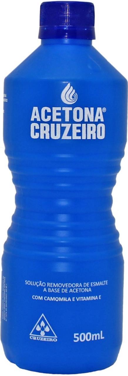 REMOVEDOR Á BASE DE ACETONA CRUZEIRO 500 ML