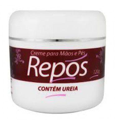 REPÓS - CREME PARA MÃO E PÉS 120GR - CONTÉM URÉIA