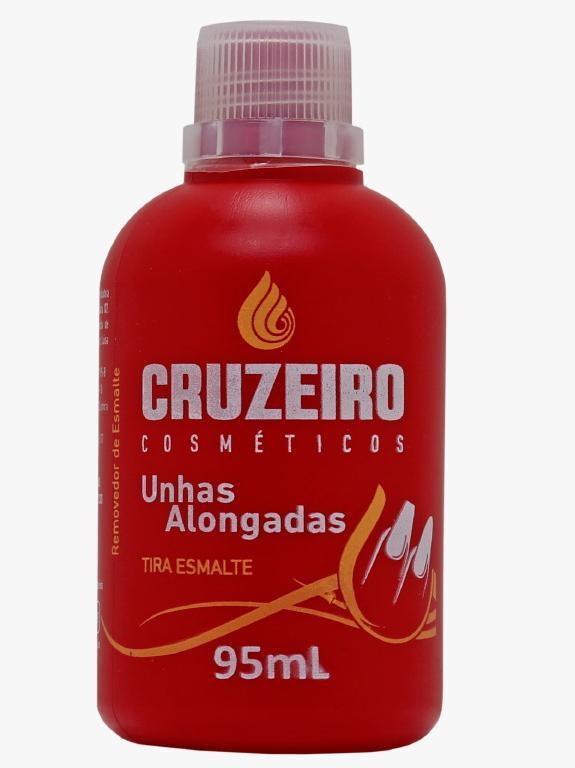 Removedor Tira Esmaltes Para Unhas Alongadas Cruzeiro 95 ml