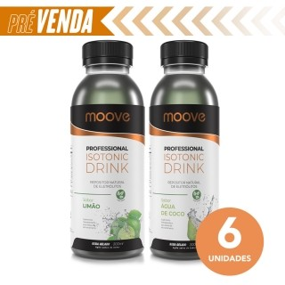 Combo Moove Professional Isotonic Drink - 2 Sabores - 6 Unidades Moove Nutrition