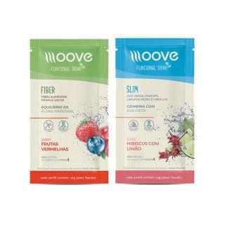 Dietas e Fibras: Moove Slim + Moove Fiber - Sachê