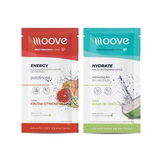 Energia e Definição: Moove Energy + Moove Hydrate - Sachês