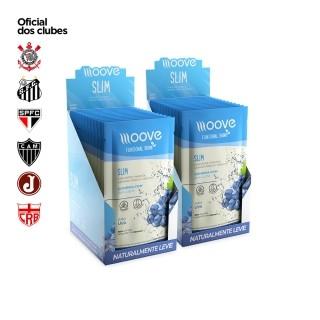 Kit 02 Moove Nutrition  Slim Uva - Display c/ 12 sachês cada