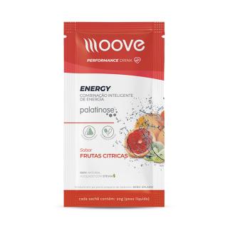 Moove Nutrition Energy Sabor Frutas Cítricas - Sachê