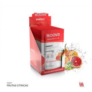 Moove Nutrition Energy Frutas Citricas - Display com 12 sachês