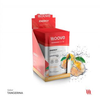 Moove Nutrition Energy Tangerina - Display com 12 sachês