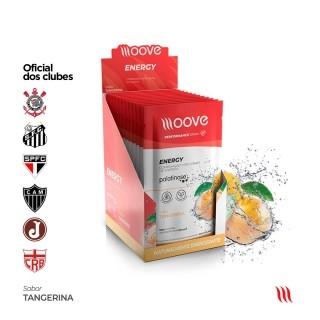 Moove Nutrition Energy Tangerina - Display com 12 sachês