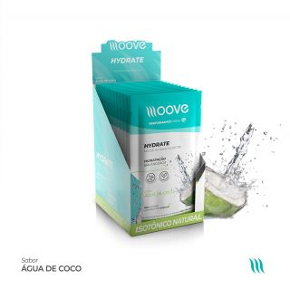 Moove Nutrition Hydrate Coco - Display com 12 sachês