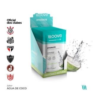 Moove Nutrition Hydrate Coco - Display com 12 sachês