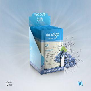 Moove Nutrition Slim Uva Display com 12 sachês