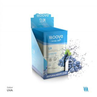 Moove Nutrition Slim Uva Display com 12 sachês
