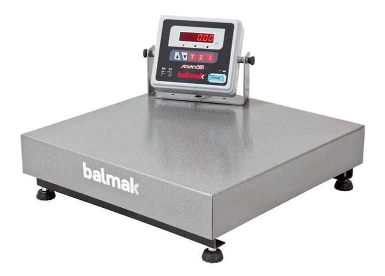 Balança Plataforma Balmak BK-40 50Kg Carbono INMETRO