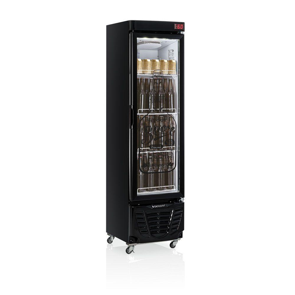 Cervejeira 230l - Condensador estático GRBA-230EVGW 110W GELOPAR