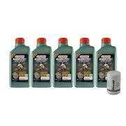 5 Litros Castrol 5w40 Sintetico Vw 502/505 + Psl564