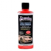 Cera Automotiva Tira Riscado Colorida VERMELHA 250ml