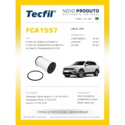 Filtro Câmbio Aut Tiguan Audi A3 Passat FCA1557 Tecfil