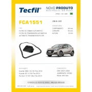 Filtro Cambio HB20 I30 KIA SOUL FCA1551 Tecfil