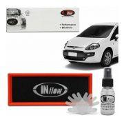 Filtro De Ar Inflow Fiat Punto Novo Uno Fiat 500 Hpf3550