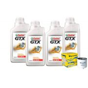 KIT 4L CASTROL GTX 20W50 + TM2 LINHA GOL