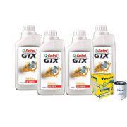 KIT 4L CASTROL GTX 20W50 + TM3 LINHA GM