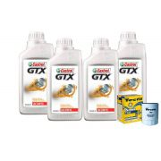 KIT 4L CASTROL GTX 20W50 +TM5 LINHA FIAT