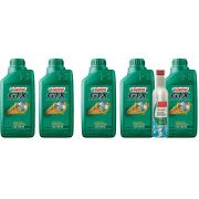 KIT 5 LTS GTX 25W60 + ENGINE shampoo CASTROL