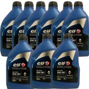 KIT 9 ELF Evol RN TECH 5W30 sintetico + PEL678