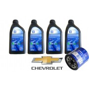KIT GM 4 LT 0W20 DX + Filtro Cruze 1.4 turbo
