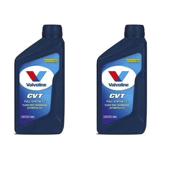 2 unid Fluído de Câmbio Automático CVT Valvoline 946 ml
