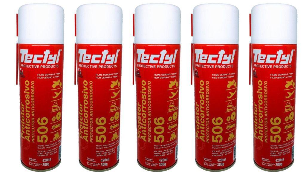 5 unidades Tectyl 506 Spray 420ml