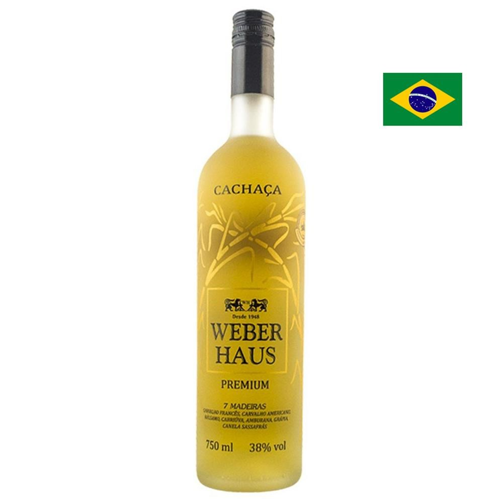 Cachaça Premium 7 Madeiras Weber Haus