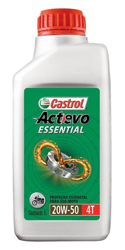 CASTROL - ACTEVO ESSENTIAL 20W50 4T