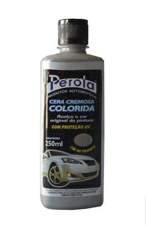Cera Automotiva Tira Riscado Colorida Prata 250ml