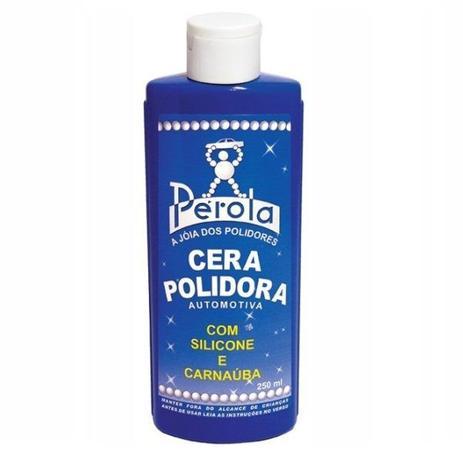 Cera Polidora Com Silicone E Carnaúba 250ml - Pérola