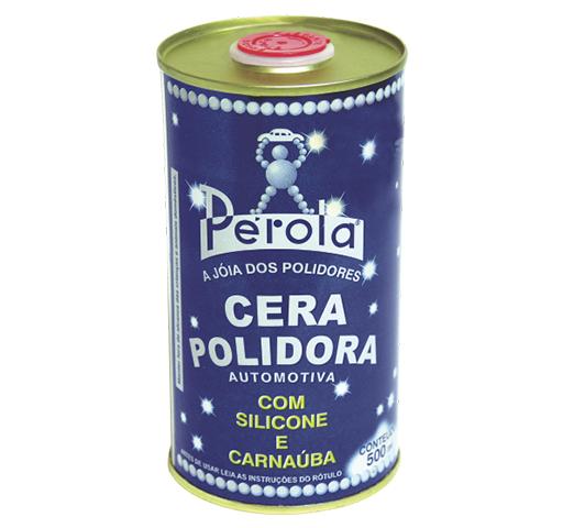 Cera Polidora Pérola Com Silicone E Carnaúba 500ml