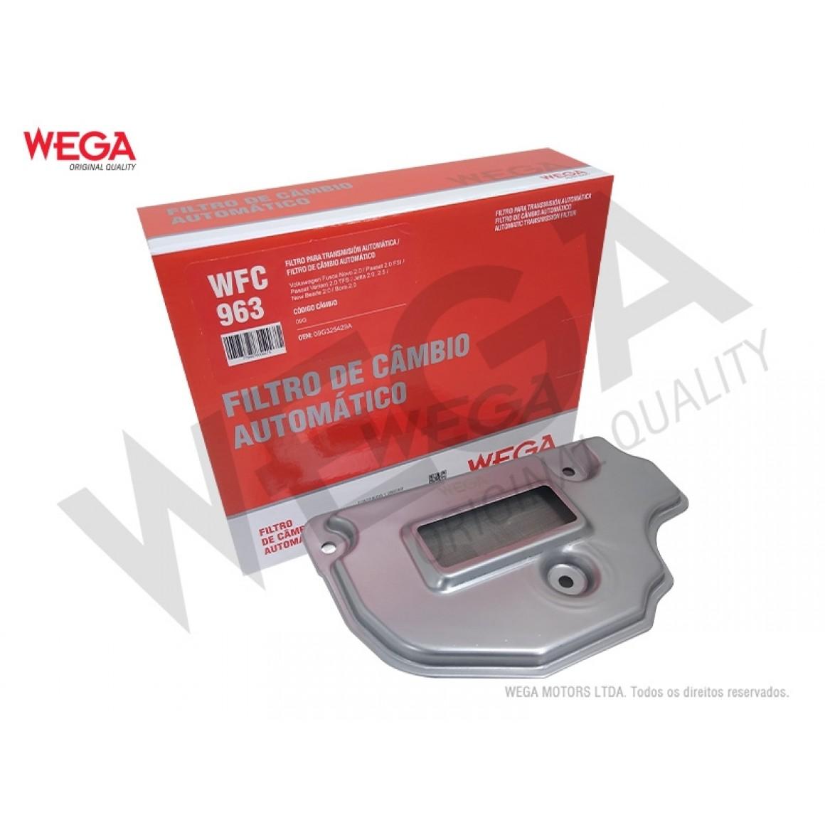 Filtro Câmbio Automático Bora New Beetle Passat Wega Wfc963